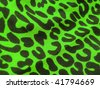 80s style leopard pattern print textile texture. More of this motif & more textiles in my port. - stock photo