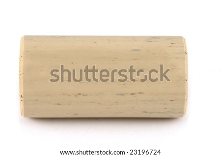 100% safe plastic cork isolated on white