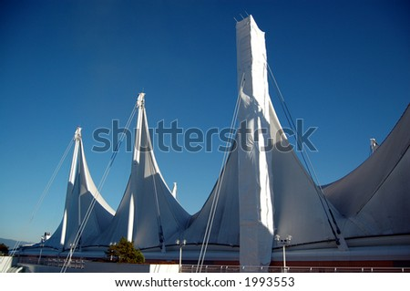 5 Sails Canada Place, Vancouver - stock photo
