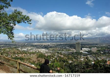 san fernando valley - stock photo