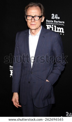 23/1/2009 - Santa Barbara - Bill Nighy at the Montecito Awards Gala - 24th Santa Barbara Film Festival held at the Arlington Theater in Santa Barbara, United States.  - stock photo
