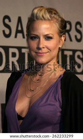 04/01/2005 - Santa Monica - Brittany Daniel at the Timothy Greenfield-Sanders XXX: 30 Porn-Star Portraits West Coast Exhibit opening at the Bergamot Station Santa Monica Museum of Art. - stock photo