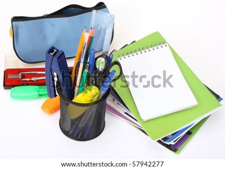 school tools - stock photo