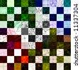 100 Seamless Textures (series 2) - stock photo
