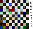 100 Seamless Textures (series 1) - stock photo