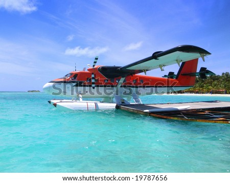 :-) Seaplane of Maldives