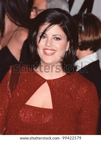 18SEP99: Former White House intern MONICA LEWINSKY at PETA's Party of the Century, in Los Angeles.       Paul Smith / Featureflash - stock photo