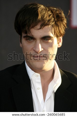 20 September 2004 - Hollywood, California - Joaquin Phoenix. World premiere of 'Ladder 49' at the El Capitan Theatre in Hollywood.