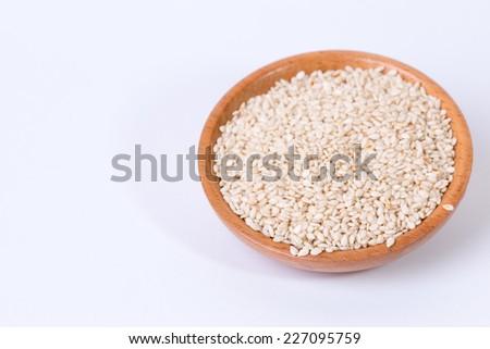 sesame seeds - stock photo