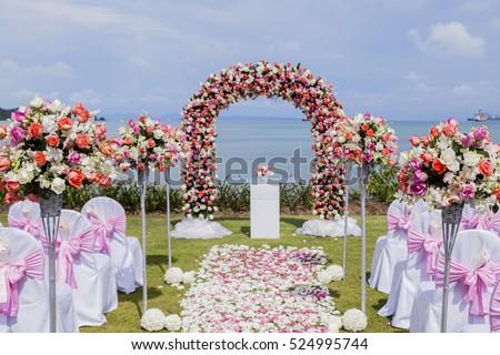 Setup wedding flowers stock photo image royalty free 524995744 setup wedding flowers stock photo image royalty free 524995744 shutterstock junglespirit Gallery