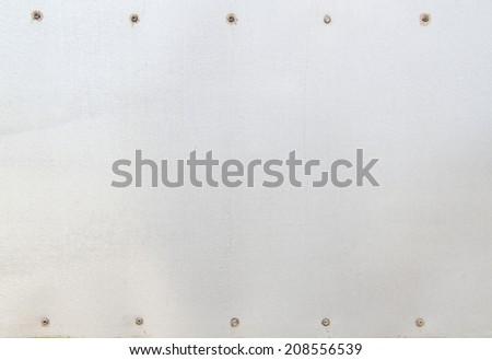 sheet aluminum Background - stock photo