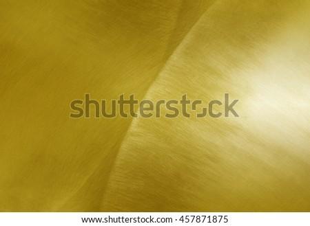 Sheet metal gold - stock photo