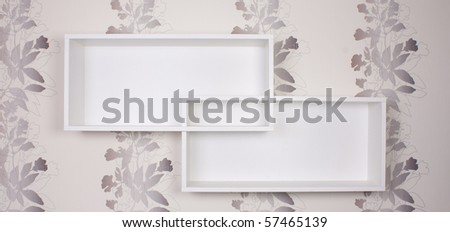 shelf - stock photo