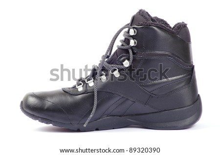 shoes on white - stock photo