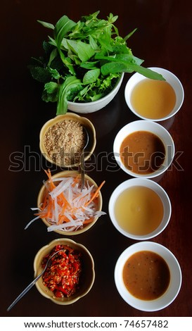 /04/11 Side dish - stock photo