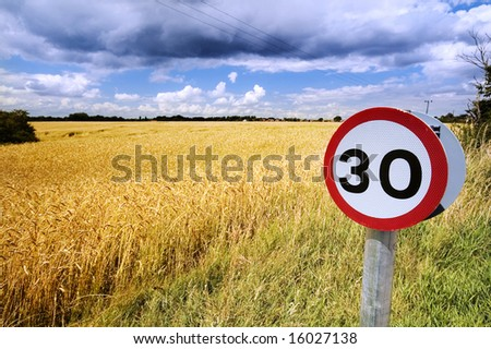 30 Sign - stock photo