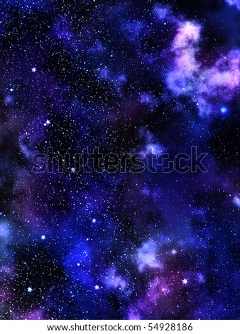 Sky  stars  constellation - stock photo