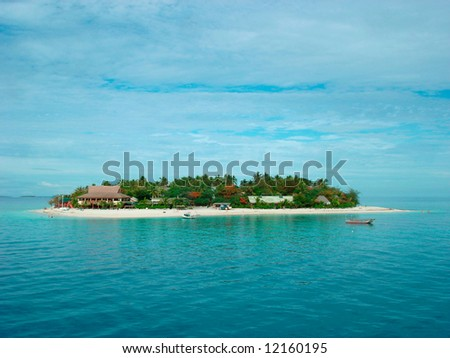 Small Island - stock photo