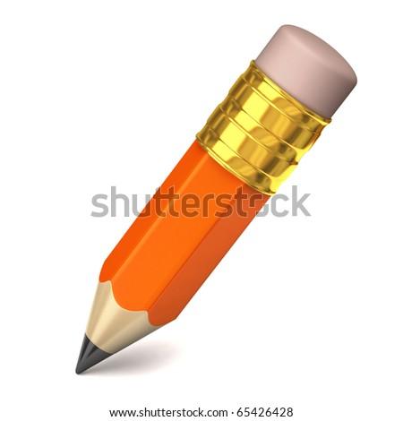 Small Pencil - stock photo