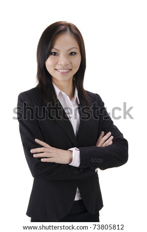 Smiling Asian Educational / Business woman.