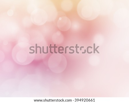 Soft Colorful background with de focused light  - stock photo