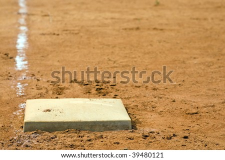 1st Base - stock photo
