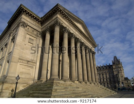 St Georges Hall in Liverpool the capital of culture for 2008