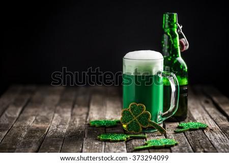 St. Patrick's day holiday celebration, lucky concept - stock photo