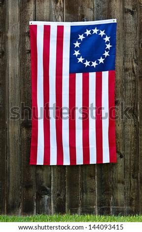 American Flag Christmas Lights