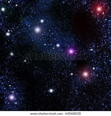 Star  for background - stock photo