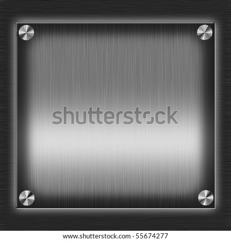 steel plate with copy space
