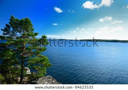 Östergötland Archipelago (Sweden - stock photo