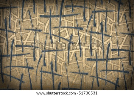 striped fabric - stock photo