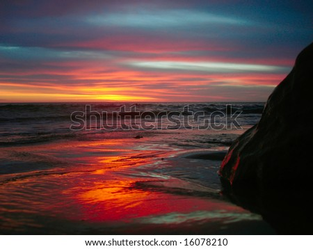 Sunrise - stock photo