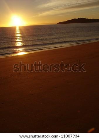 Sunrise - Sunset - stock photo