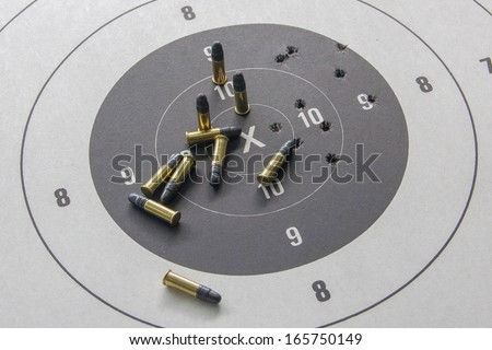 .22 Target pistol and ammunition