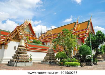 Temple of Bangkok Thailand - stock photo