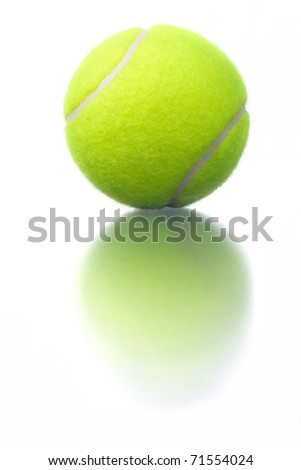 Tennis balls. - stock photo