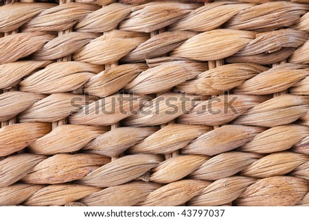 texture of rattan pattern