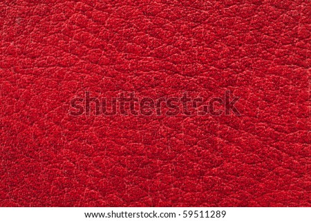 texture of red leather