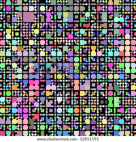 texture of vibrant colorful blocks and squares