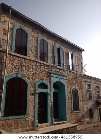 19th century building in Foca, Izmir