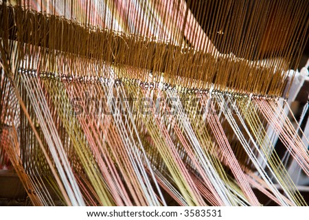 18th Century Loom - stock photo