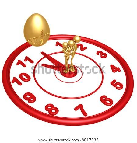 11th Hour Nest Egg - stock photo