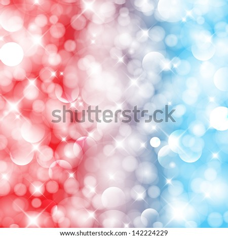 4th july abstarct illustration background. For vector version, see my portfolio. - stock photo