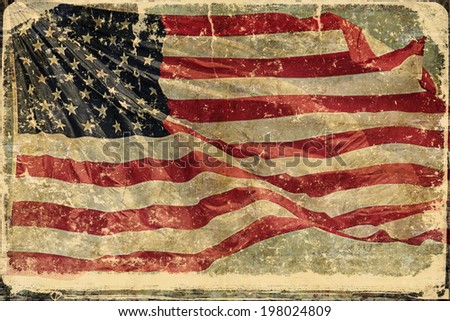 4th of July   Independence Day Background with place for your text - stock photo