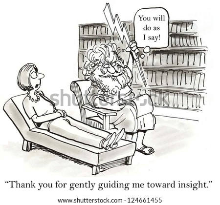 """""""Thank you for gently guiding me toward insight."""" - stock photo"""