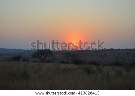 The Isimangaliso wetland park, St Lucia, South Africa - stock photo