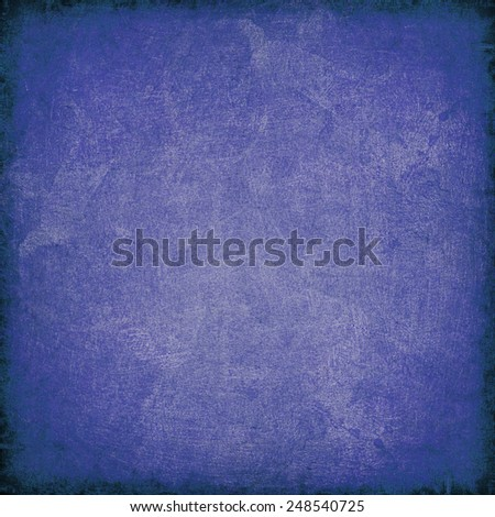 the old blue parchment - stock photo