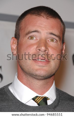 """The Unit"" star Scott Foley at nominations announcement party for the People's Choice Awards at Area Nightclub, West Hollywood. November 9, 2007  Los Angeles, CA Picture: Paul Smith / Featureflash"